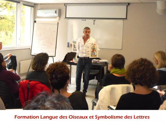 Formation Langue des Oiseaux et Symbolisme des lettres